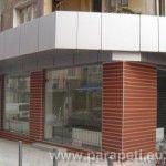 витрина на магазин и облицовка от еталбонд - ул. Лавеле