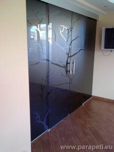 Стъклени лъзгащи врати