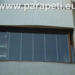 Windfree остъкляване на балкон